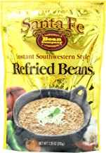 Santa Fe Bean Company Instant Southwestern Style Refried Beans 7.25-Ounce (Pack of 8) Instant Southwestern Style Refried B...