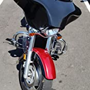 Vector Batwing Fairings Compatible with F9-2 Kawasaki Vulcan 1600 Nomad and Classic Fiberglass Batwing Fairing with 2x6 x9 Speaker Cutouts