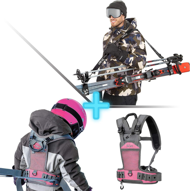 Ski Snowboard Training Harness + Oklahoma City Mall Pole - T Bundle Carrier Denver Mall