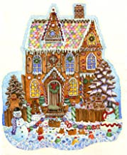 Gingerbread House Shaped 1000 Piece Jigsaw Puzzle by SunsOut