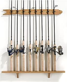 Best fishing rod rack wood Reviews