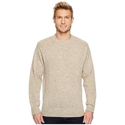 Pendleton Shetland Crew Sweater (Oat Heather) Men