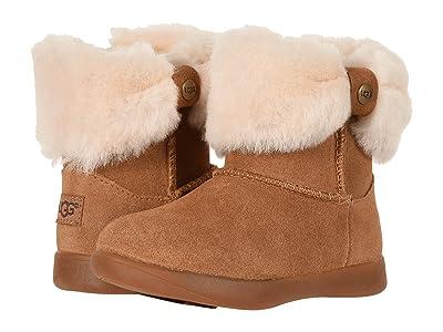 UGG Kids Ramona (Toddler/Little Kid) (Chestnut) Girls Shoes