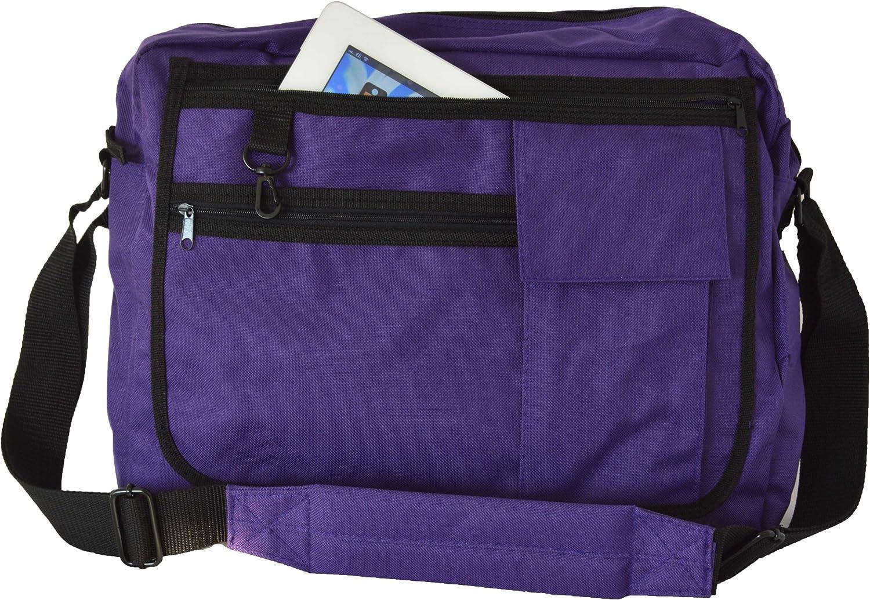 Euro Messenger Bag Holds Laptops Netbooks 10 Colours