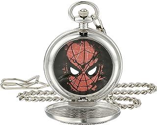 Marvel Men's W001746 Spider-Man Analog-Quartz Pocket Watch