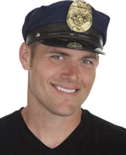 Jacobson Hat Company Men's Adult Police Cap