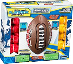 Franklin Sports Flag Football Flags and Ball Set - Flag Football Belts and Football for Kids - Full Youth Flag Football Set - Includes 2 Flag Sets of 5
