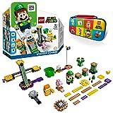 【メーカー特典】レゴ(LEGO) スーパーマリオ レゴ ルイージ と ぼうけんのはじまり 〜 スターターセット 71387+キャリングケース 付き