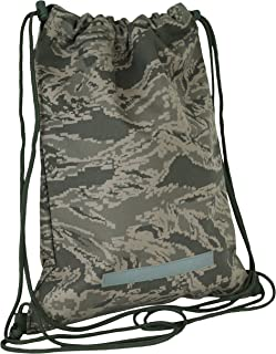 Mercury Tactical Gear Code Alpha Drawstring Backpack, Digital Camouflage, Air Force