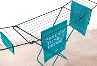 Beldray LA023810TQ Clothing Garment Airer, 18 Metre Drying Space, Holds up to 10 KG