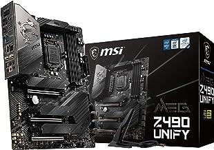 MSI - MEG Z490 Unify - Placa Base Enthusiast Gaming (10th Gen Intel Core, LGA 1200 Socket, SLI/CF, Triple Ranura M.2, USB 3.2 Gen 2x2, Wi-Fi 6)