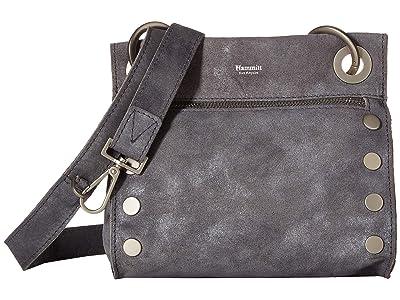 Hammitt Tony Small (Slate Buffed/Brushed Silver) Cross Body Handbags