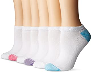 Women's Athletic No-Show Socks, 6-Pack