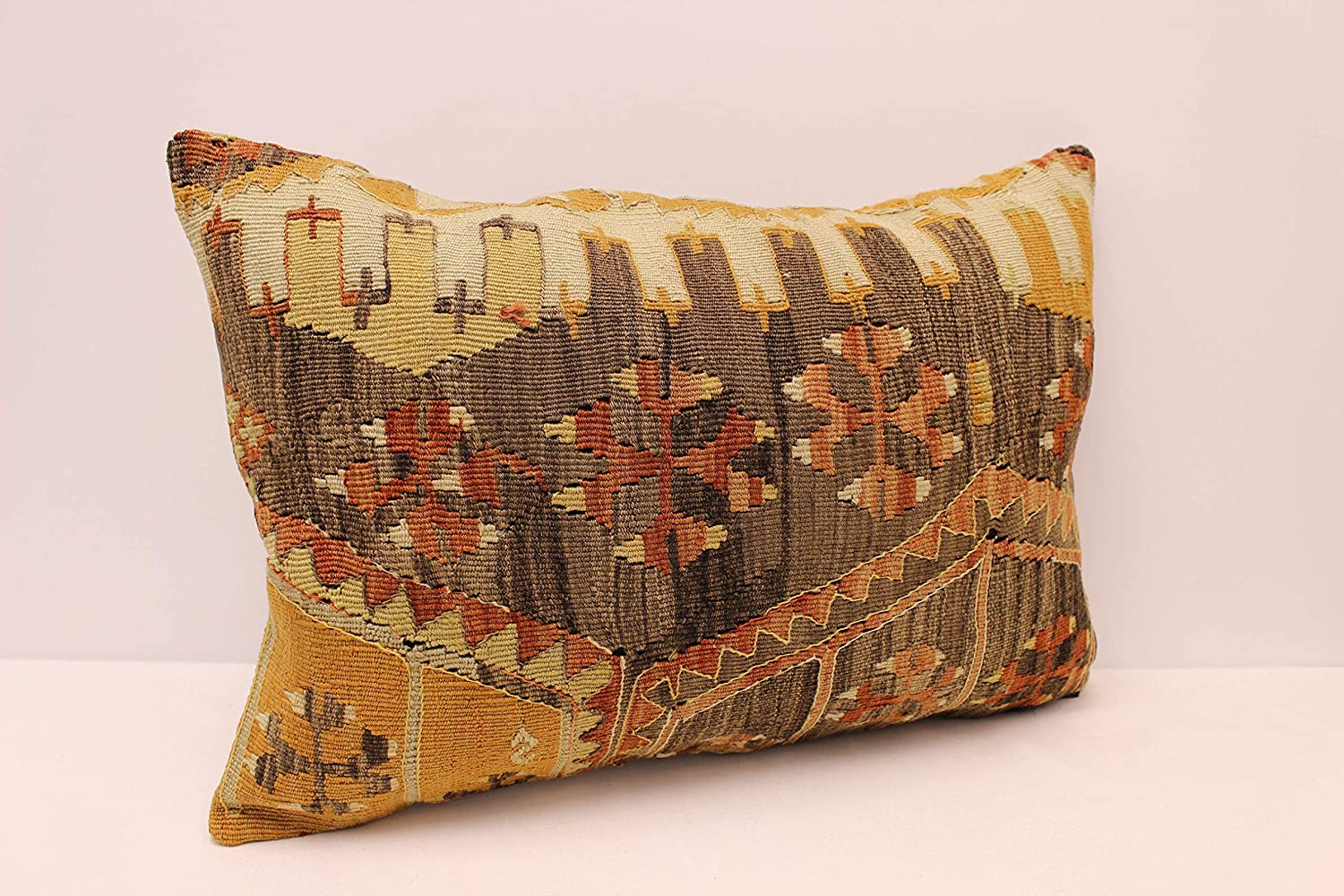 Max 61% OFF Handmade Lumbar Pillow Cover 16x24 inches Sofa Red P Green Cheap super special price Black