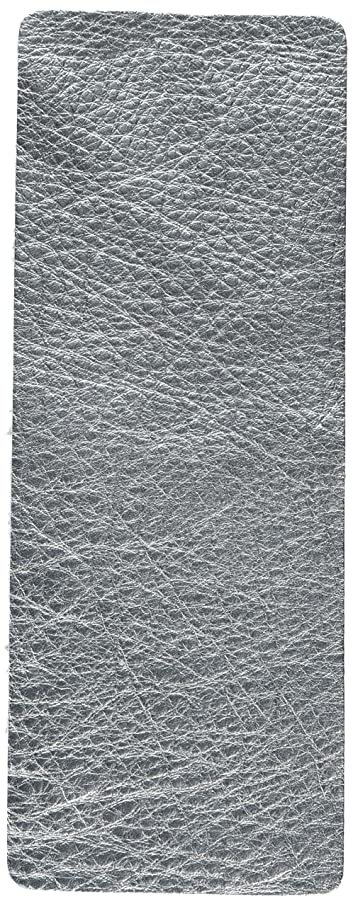 Sizzix 660609 Leather, Metallic Silver (Cowhide), Size 3