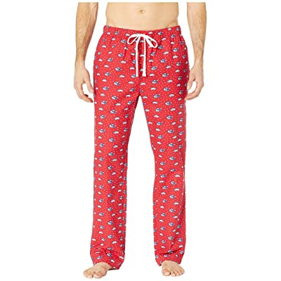Vineyard Vines Woody Ski Lounge Pants (Calypso Red) Men