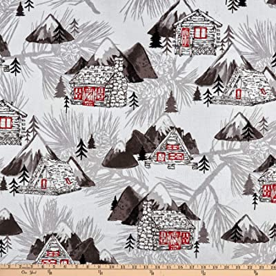 Shannon Fabrics Studio Minky The Lodge Cuddle Scarlet Fabric Fabric by the Yard