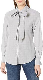 Amazon Brand - Lark & Ro Women's Stripe Woven Top
