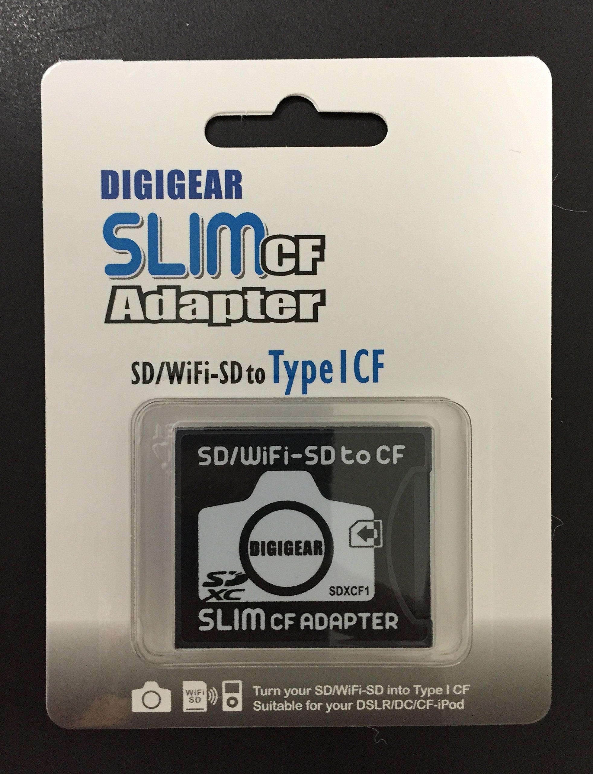 DIGIGEAR SLIM CF Adapter WiFi SD