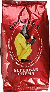 Joerges FF01GOSB Espresso Gorilla Super Bar Crema, 1er Pack 1 x 1 kg