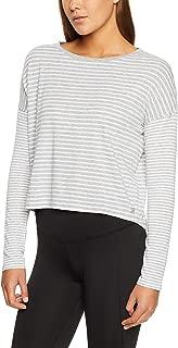 Calvin Klein Women's Long Sleeve Striped T-Shirt