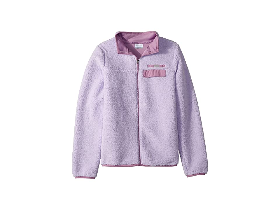 Columbia Kids Mountain Side Heavyweight Full Zip Fleece (Little Kids/Big Kids) (Soft Violet/Violet Haze) Girl