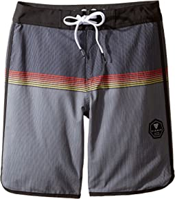 VISSLA Kids - Dredges Four-Way Stretch Boardshorts 17