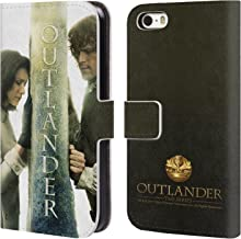 Official Outlander Season 3 Poster Key Art Leather Book Wallet Case Cover Compatible for iPhone 5 iPhone 5s iPhone SE