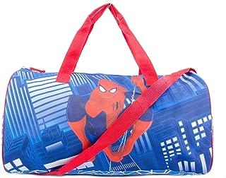 Marvel Spiderman Kids Shoulder Bag Sports Duffel Bag - Blue