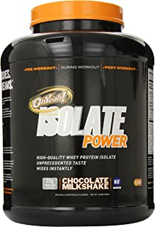 ISS Research OhYeah! Isolate Power, Chocolate Milkshake, 4 Pound