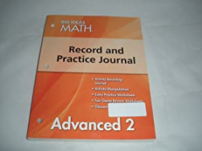 Big Ideas Math Record and Practice Journal Advanced 2