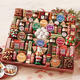 Santa's 77 Favorites Food Gift from The Swiss Colony