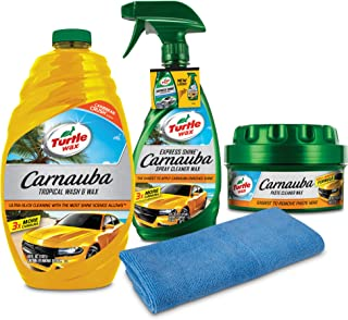 Best turtle wax carnauba tropical wash and wax Reviews