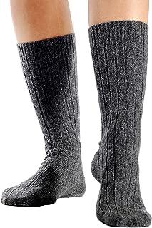 100% Pure Cashmere Unisex Socks (2 Colors, 2 Sizes)