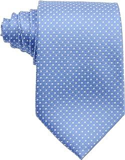 New Classic Checks Light Blue White JACQUARD WOVEN 100/% Silk Men/'s Tie Necktie