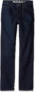 Dickies Big Boys' Slim Tapered Fit 5-Pocket Jean
