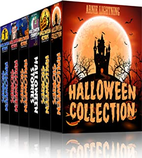 HALLOWEEN COLLECTION (7 Books in 1): Scary Stories, Halloween Activities, Funny Jokes, and More! (Haunted Halloween Collection)