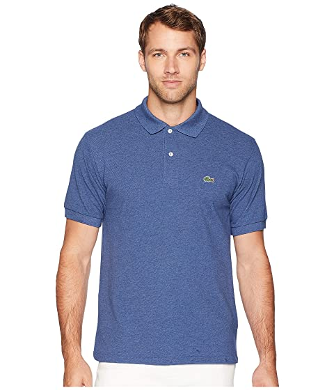 9d7714abe Lacoste Classic Chine Pique Polo Shirt at Zappos.com