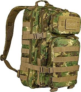 MIL-TEC バックパック US Assault Pack モールシステム 大 36L - WOODLAND-ARID Camo迷彩