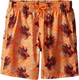 Vilebrequin Kids Sashimi Exotic Swim Trunk (Big Kids)
