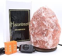 Hazantree Jhelum Coral Pink Himalayan Salt Lamp (8-11 lbs, 8