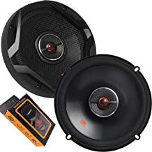 $63 » JBL GX628 6-1/2 Inches Coaxial Car Audio Loudspeaker with Frequency Response: 50Hz – 21kHz / Power Handling: 60W RMS, 180W...