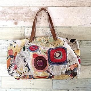 Jam's Ukulele SWK-183 / かぼちゃバッグ 布バッグ スペイン製 ゴブラン ぷっくりバッグ 丸底 ハンドメイド 手作り プレゼント