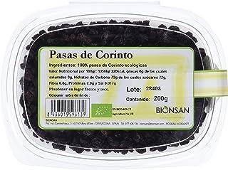 Bionsan Pasas de Corinto Ecológicas - 6 Cajitas de 200g- Total: 1200g (4191901)