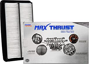 Spearhead MAX THRUST Performance Engine Air Filter For Low & High Mileage Vehicles - Increases Power & Improves Acceleration (MT-013)