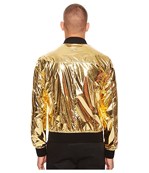 Versace Collection Shiny Gold Shiny Bomber Bomber Collection Gold Versace Collection Versace rrqwP6HB