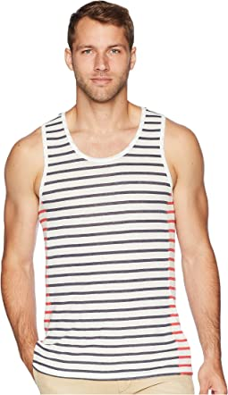 Eco Jersey Marine Side Panel Tank Top
