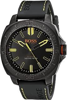 Hugo Boss Men's 1513249 Year-round Strap Analog Quartz Black Band Watch