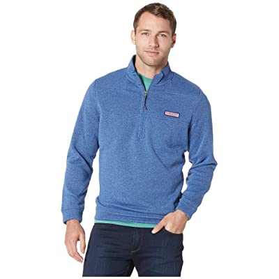 Vineyard Vines Sweater Fleece Shep Shirt (Moonshine) Men