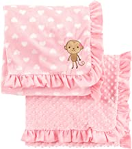 Simple Joys by Carter's Baby Girls' 2-Pack Plush Blankets